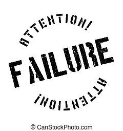 Failure stamp - Failure rubber stamp. Grunge design with...