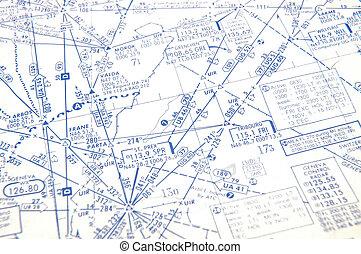 Faint Background of Airway Chart - A faint photo of an...