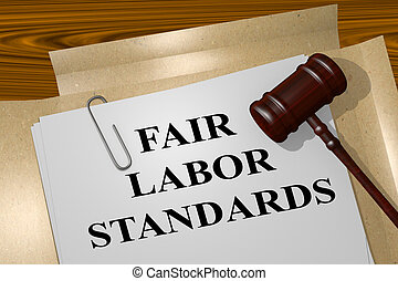 Fair Labor Standards legal concept