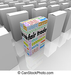 Fair Trade Best Product Competitive Advantage Many Boxes Package