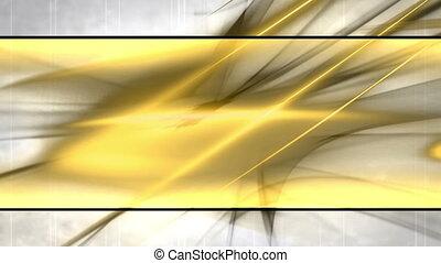 faire boucle, blanc, noir, résumé, or