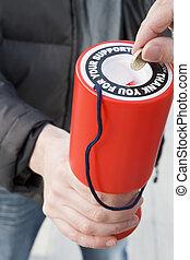 faire don, argent, charité