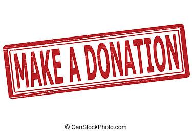 faire, donation
