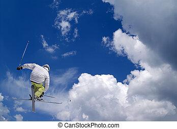 faire ski main-levée