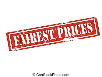 Fairest prices