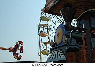 At the fairground