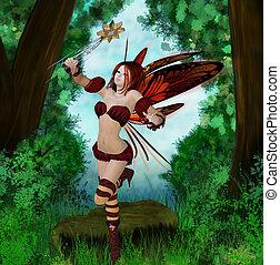 fairy - 3d render