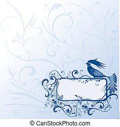 Fairy bird-frame