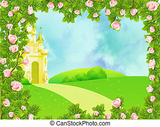 Fairy castle - Background