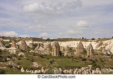 Fairy chimneys of Cappadocia