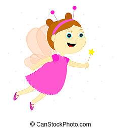fairy - the fairy with the magic wand