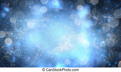 Fairy dust magic background seamless loop