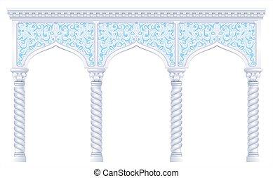 Fairy eastern arch