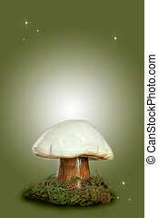 Fairy Fantasy Mushroom