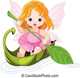 Fairy Floats on a Boat