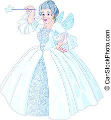 Fairy Godmother - Illustration of Fairy godmother