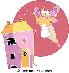 Fairy house cleaner