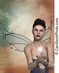 fairy in the sky