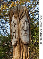 Fairy-like figures from primaeval Slawic tales