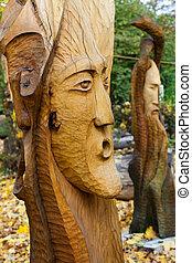 Fairy-like figures from primeval Slawic tales