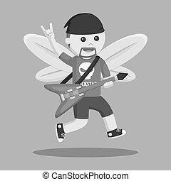 fairy male rockstar
