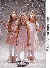 Fairy snowfall