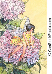 fairy - graphic illustration of a fairy