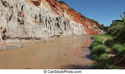 Fairy Stream Canyon in Mui Ne. Vietnam - Fairy Stream...
