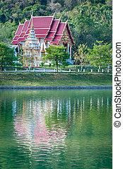 Fairy-tale buddhist temple
