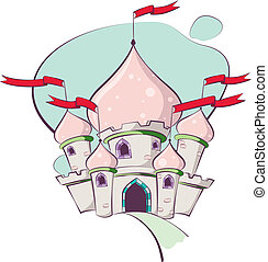 Fairy Tale - Detailed and colorful illustration of a fairy...