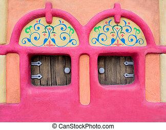 Fairy-tale house facade