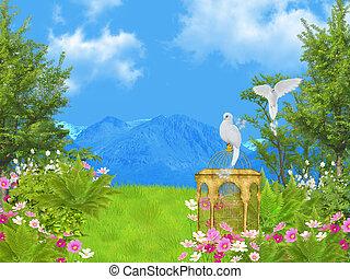 fairy tale lawn