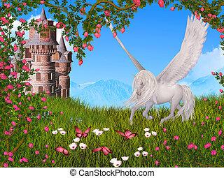 fairy tale - dreamy fairy tale background