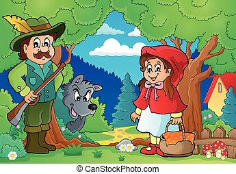 Fairy tale theme image 2 - eps10 vector illustration.