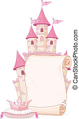 Fairy tale theme parchment - Fairy tale theme parchment...