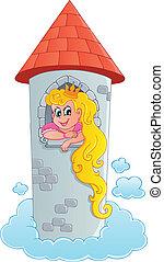 Fairy tale theme with princess 1