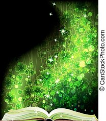 Fairy tales book - Book of fairy tales on a magic clover ...