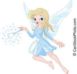 fairy tand, hos, trylleri stav
