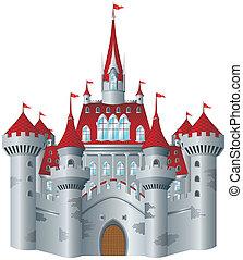 fairy-verhaal, kasteel