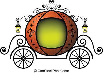 Fairytale carriage - Cute fairytale carriage