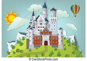 fairytale, castillo
