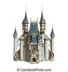 Fairytale Castle - 3D digital render of a fairytale castle...
