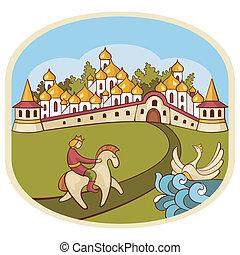 fairytale composition background