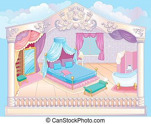 Fairytale Luxury Princess Bedroom