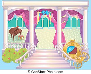 Fairytale Luxury Princess Dinner Room