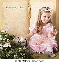 Fairytale Princess - A beautiful preschool princess petting...