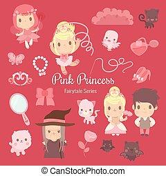 fairytale series pink princess