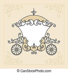 fairytale, wóz