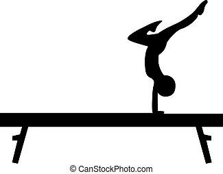 faisceau, gymnastique