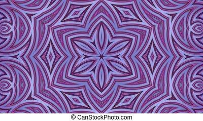 fait boucle, couleur, animation., mouvement, clair, style., simple, gradient, seamless, créatif, 4k., 2, résumé, 3d, cyclically., raies, fond, dessin animé, géométrie, lisser, populaire, kaléidoscope